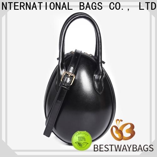 Bestway crossbody big leather handbag manufacturer for work