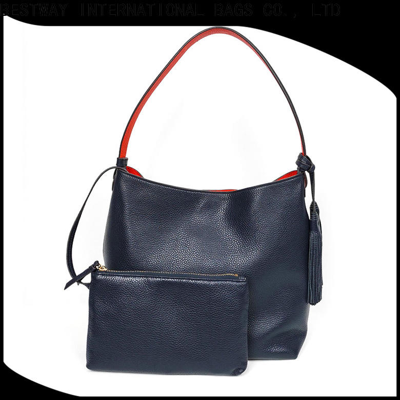 Bestway popular leather handbags online shopping company for date