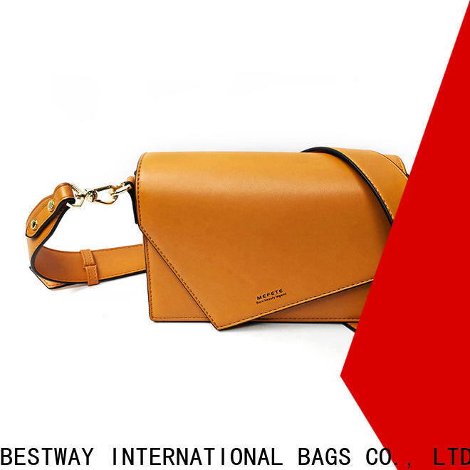 Bestway New pu leather made of factory for ladies