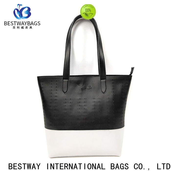 fashion pu leather material quality for business for ladies