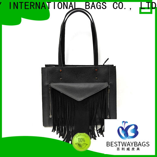 ladies women's genuine leather handbags hobo factory