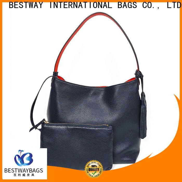 Bestway laptop soft leather purse manufacturer for work