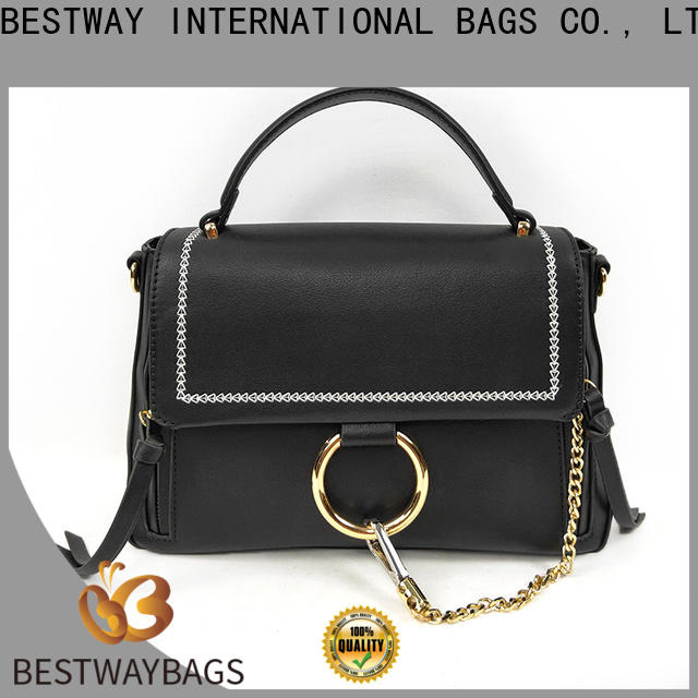 Bestway Bestway Bag what's pu leather material Supply for lady