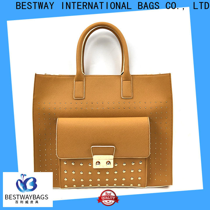 Latest soft pu material small supplier for girl