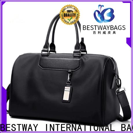 Bestway foldable reusable nylon bags manufacturers for gym