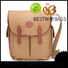 special canvas tote leather handle white factory for holiday