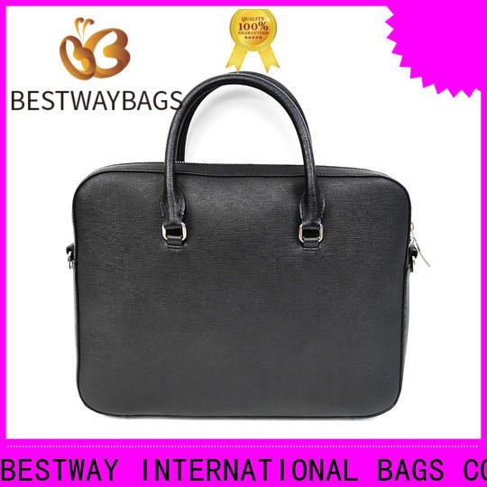 popular black leather pocketbooks genuine for business for date