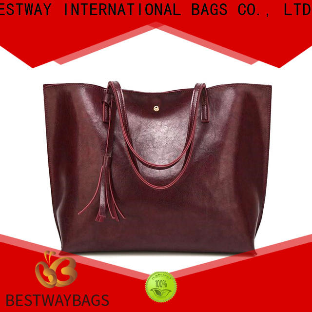 Bestway boutique pu leather durability supplier for ladies