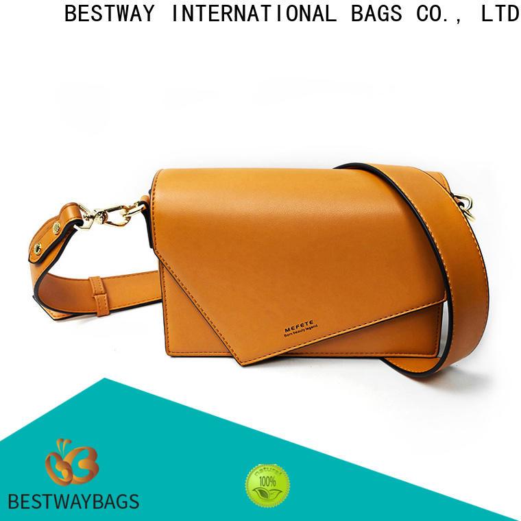 Bestway Best pu leather handbags online for lady