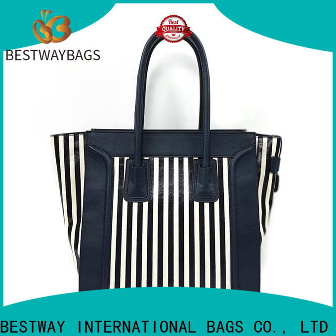 Bestway designer canvas leather purse manufacturers for vacation