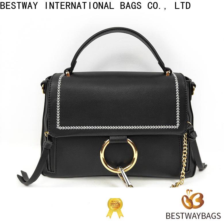 Bestway tan polyurethane vegan leather manufacturers for girl