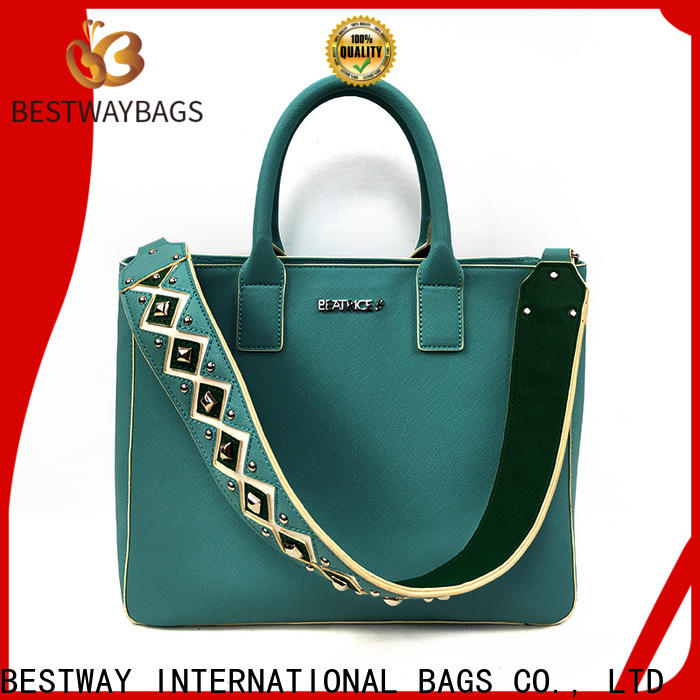 Bestway boutique bag material pu meaning company for ladies