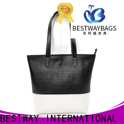 Bestway customized floral handbags supplier for ladies