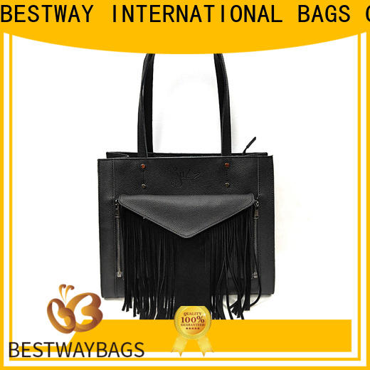 Bestway red leather luggage bags for business for date