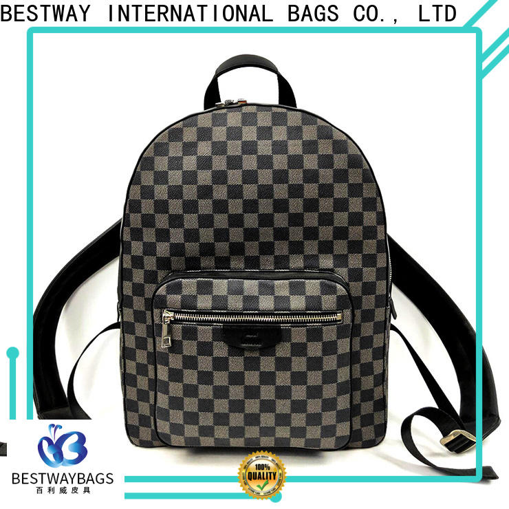 popular leather bags for women backpack Suppliers