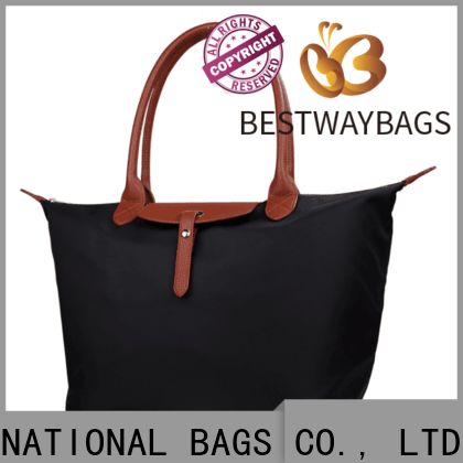 Bestway sling black nylon tote leather handles Suppliers for sport