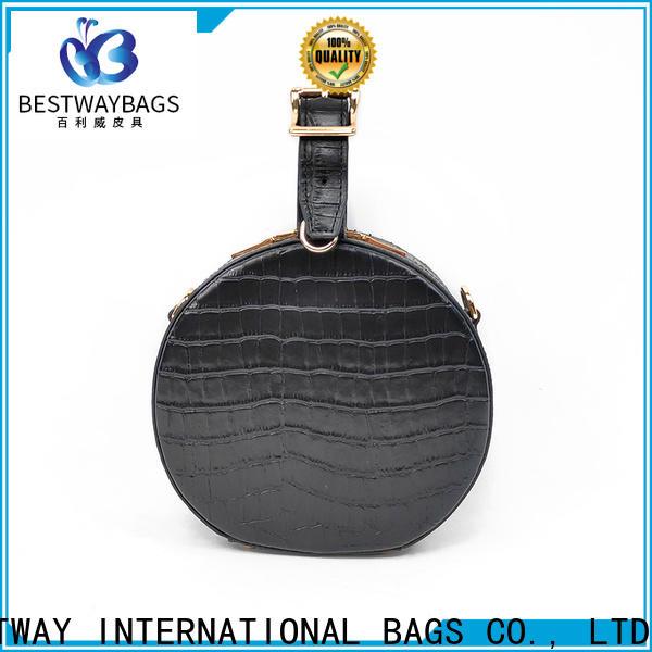 Bestway vendor white leather handbags manufacturer for work