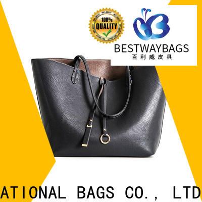 Bestway genuine black leather handbags online wildly for school