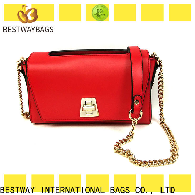 Bestway Custom is pu leather good Supply for lady