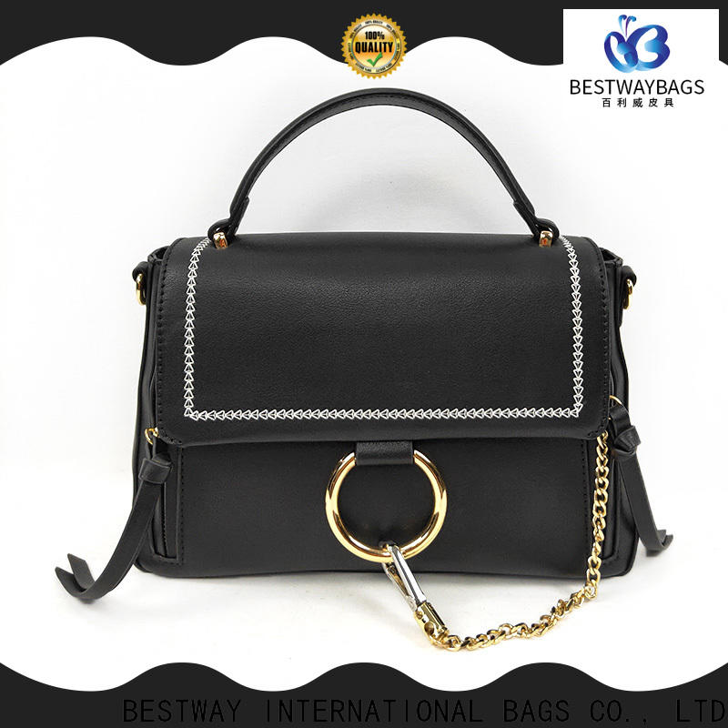 High-quality leather and polyurethane hobo Suppliers for girl