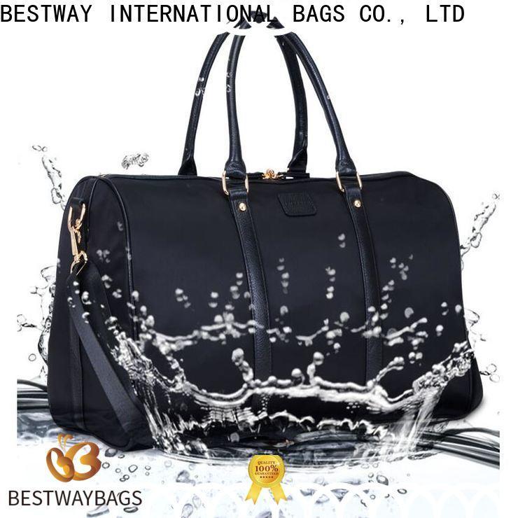 Bestway Wholesale nylon organizer handbags on sale for bech