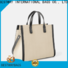 Bestway special canvas leather handbag manufacturers for relax
