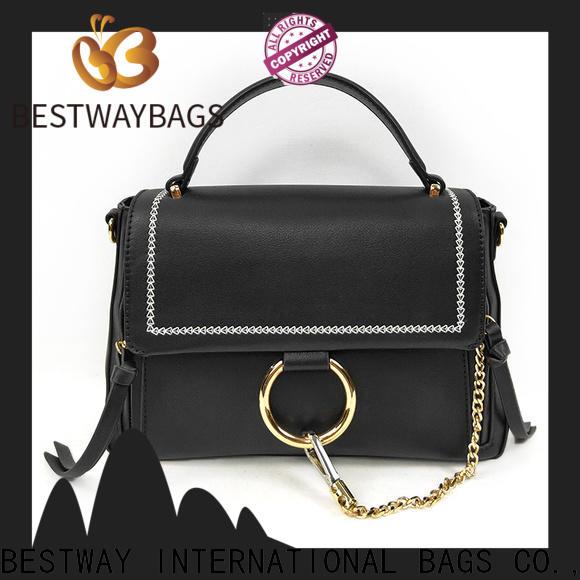 Bestway Top pu shopper bag Supply for ladies