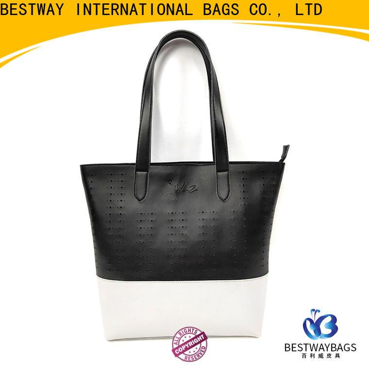 Bestway elegant pu leather bags supplier for women