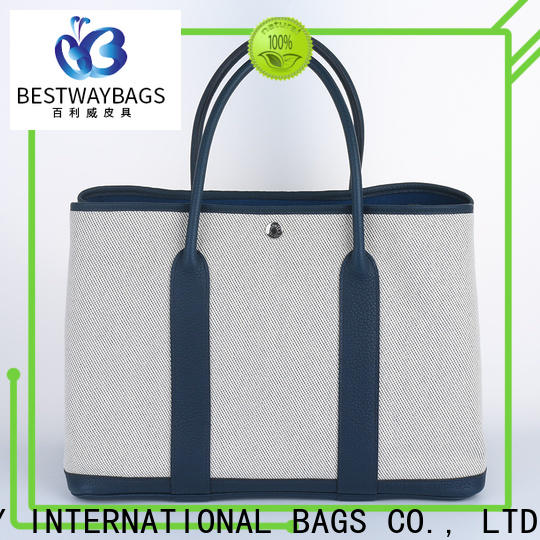 Bestway High-quality canvas tote bags canada company for holiday