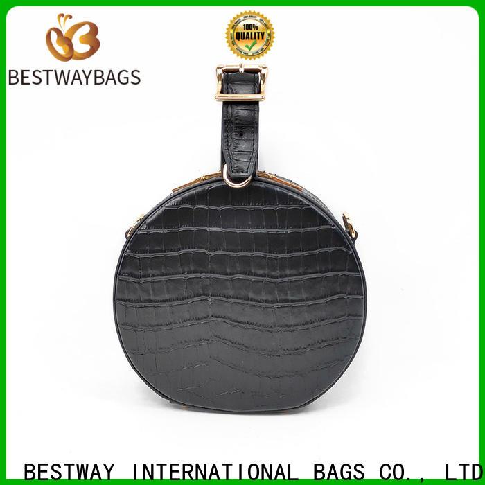 Bestway popular leather hobo handbags factory