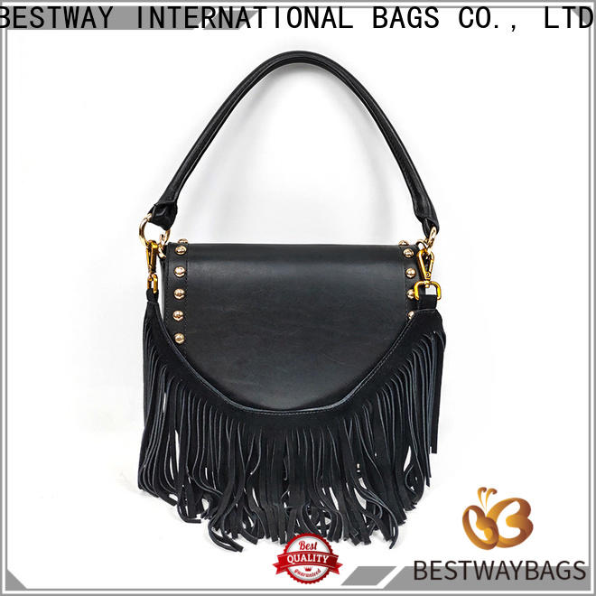 Bestway ladies leather purse with initials manufacturer for daily life