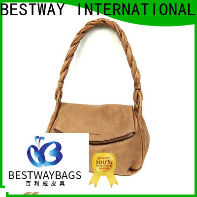 Bestway leisure pu handbags wholesale supplier for ladies