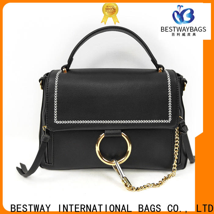 boutique pu material shoes satchel Supply for ladies