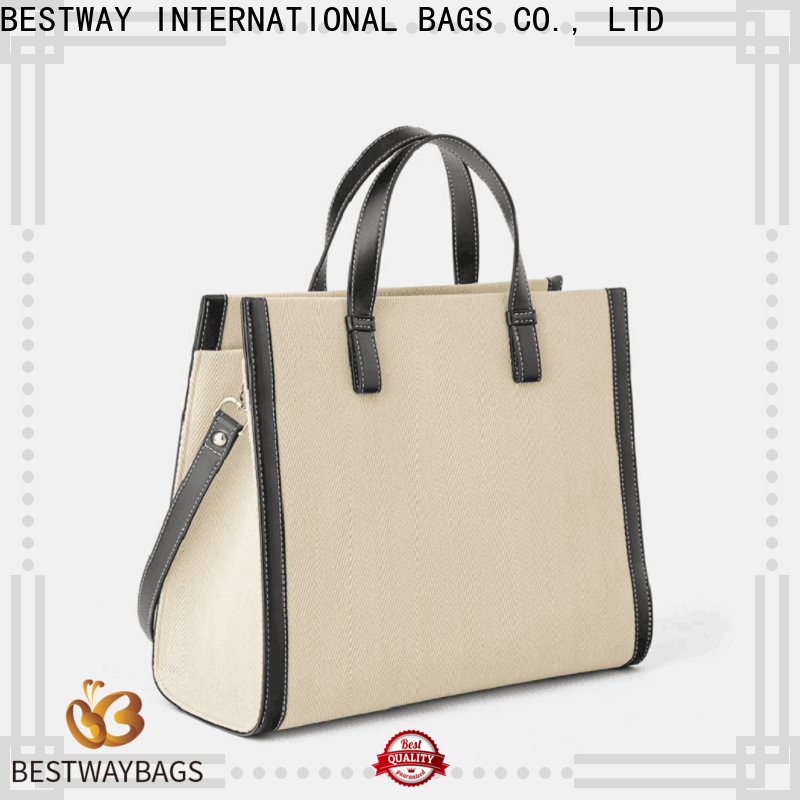 Bestway mini canvas tote bags Supply for shopping
