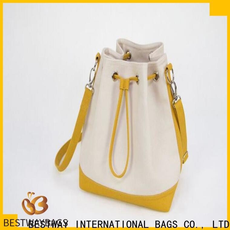 Bestway shopping womens canvas bags personalized for shopping