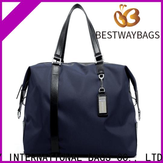 durable black nylon purse stylish supplier for gym