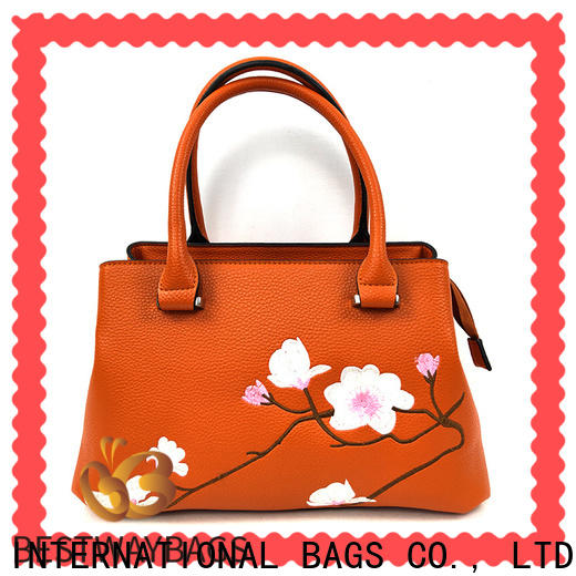boutique pu leather real office factory for women