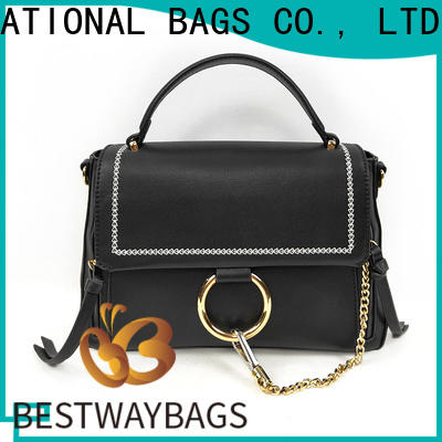 Bestway real cute leather bags manufacturers for women