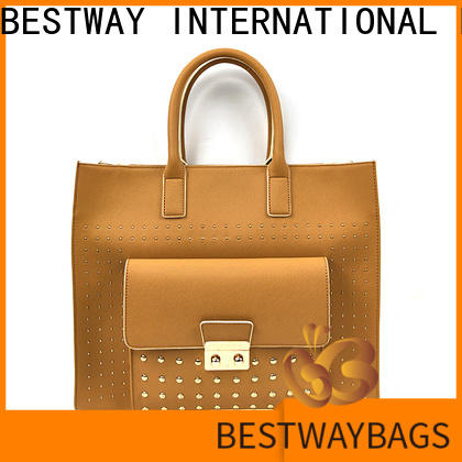 Bestway leather pu leather tote online for ladies