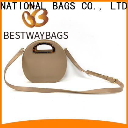 Bestway High-quality pu upper leather meaning manufacturers for ladies
