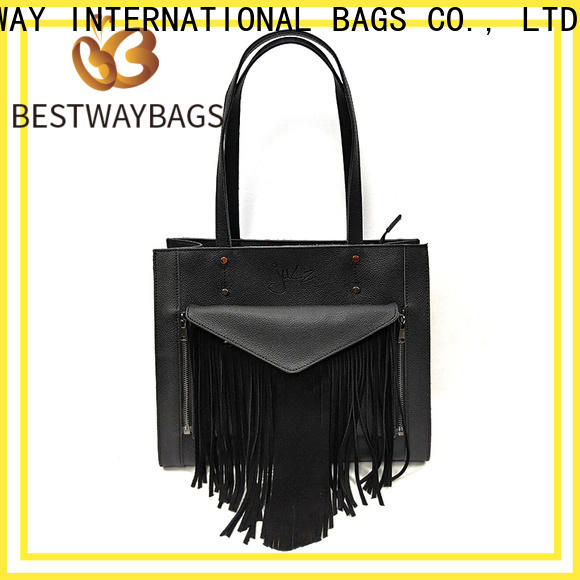 Bestway High-quality ladies soft leather bags for business for date