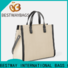 Bestway strip canvas beach bags wholesale for shopping