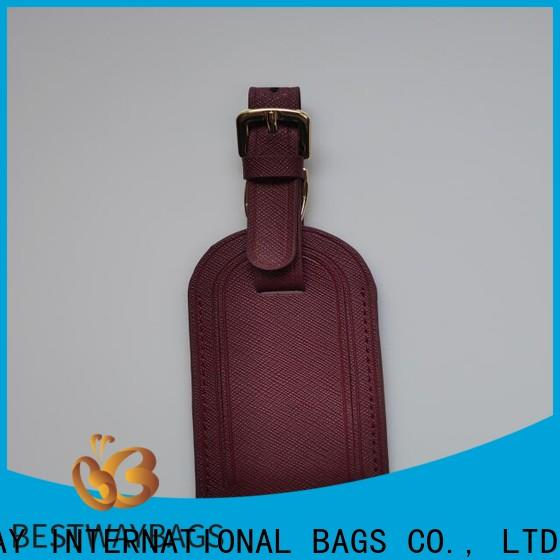 Bestway oem handbag charms personalized doe handbag