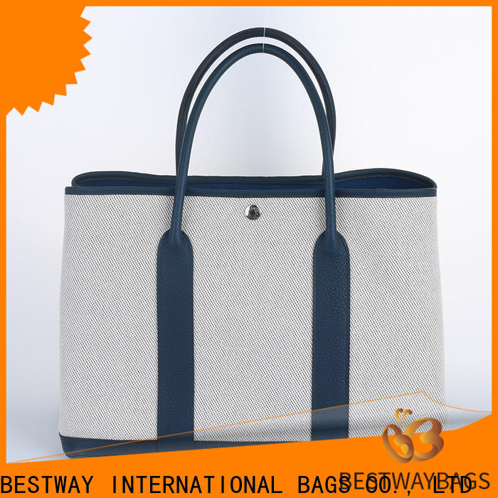 Top pretty canvas tote bags shoulder wholesale for shopping