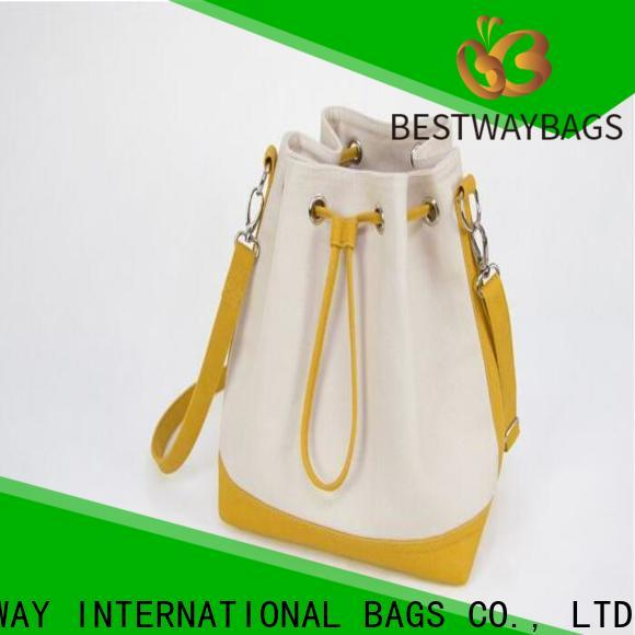 easy match canvas handbags and totes bag wholesale for shopping