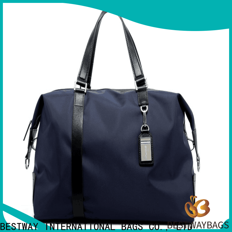 Best nylon handbags with leather handles polyester company for swimming