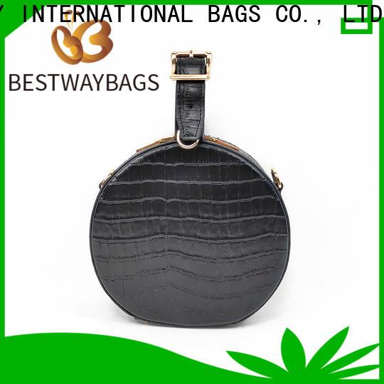 Bestway High-quality brown leather bag ladies Supply for school