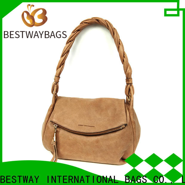 Bestway famous does pu leather last long company for lady