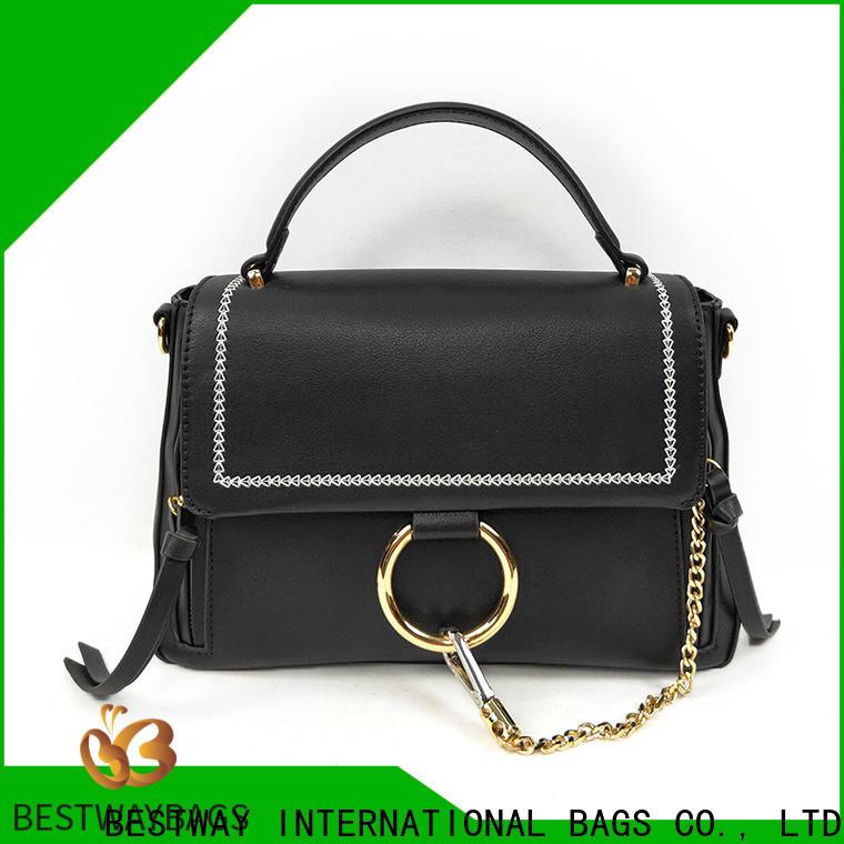 Bestway Top pu leather shoulder bag for sale for ladies