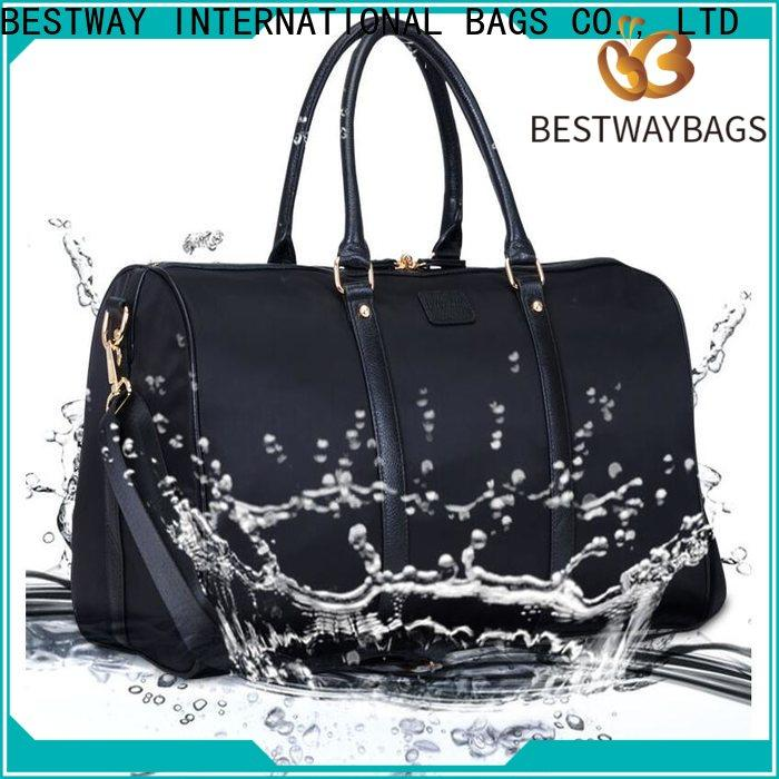 Bestway High-quality black nylon tote bag women's company for swimming
